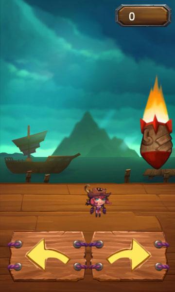 Chơi game Nữ cướp biển tránh bom