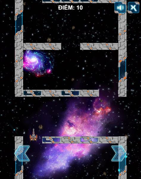 Chơi game Mê cung vũ trụ