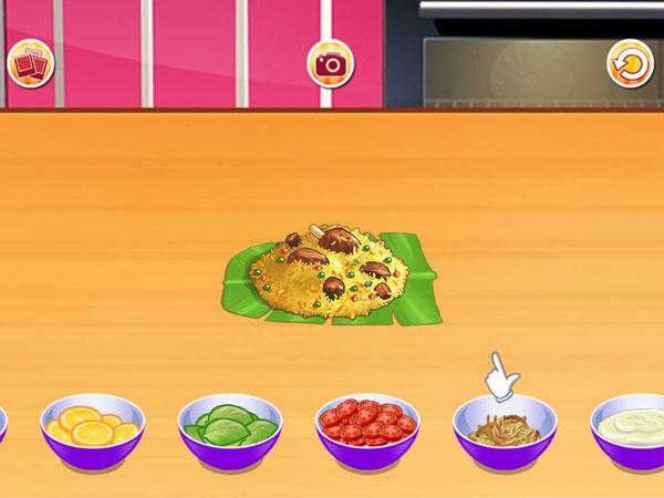 Trang trí món ăn của Lớp học nấu ăn 6