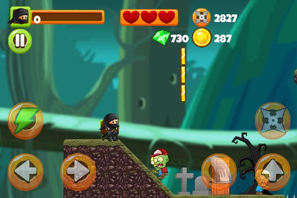 Chơi game Chiến binh nhí diệt zombie