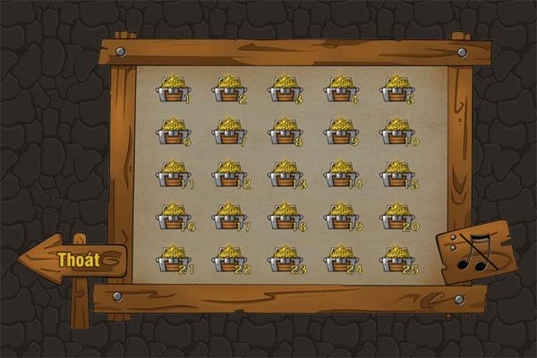 Chọn bài Thợ mỏ chuyển vàng