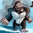 Khỉ đột tức giận