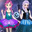Anna và Elsa đón Halloween