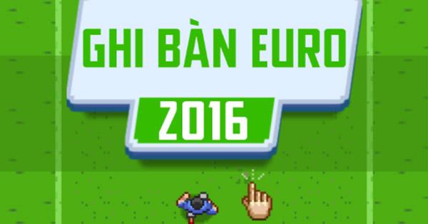 Ghi bàn Euro 2016