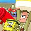 Spongebob phòng thủ
