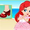 Nàng tiên cá thiết kế giày