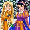 Thời trang Rapunzel và Bạch tuyết