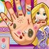 Rapunzel trị thương tay
