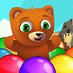 Gấu con bắn bóng 3