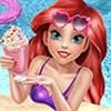 Công chúa tắm biển