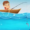 Chú bé câu cá