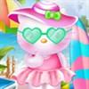 Hello Kitty đi biển
