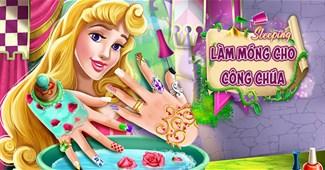 Làm móng cho công chúa
