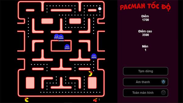 pacman-toc-do