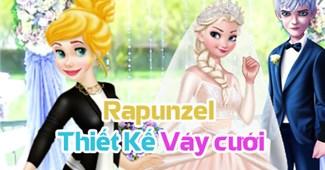 Rapunzel thiết kế váy cưới