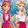 Elsa và Anna: Lễ phục sinh