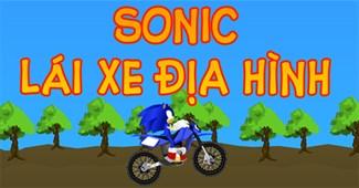 Sonic lái xe địa hình