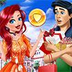 Ariel đi Shopping