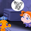 Chú khỉ buồn: Giúp bé gái tìm gấu bông