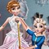 Elsa thiết kế váy cưới
