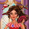 Công chúa làm tóc xinh