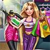 Rapunzel đi mua sắm