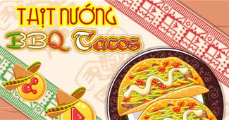 Thịt nướng BBQ Tacos