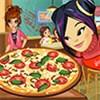Amy làm pizza