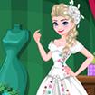 Công chúa thiết kế váy cưới
