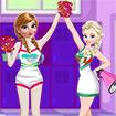 Elsa và Anna: Nữ cổ động viên
