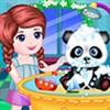 Chăm sóc gấu Panda