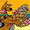 Scooby Doo thu thập đồ ăn