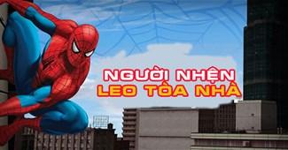 Người nhện leo tòa nhà