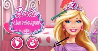 Barbie làm tóc xinh