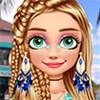 Trang điểm công chúa tóc mây
