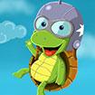 Rùa con tập bay