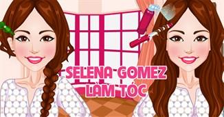 Selena Gomez làm tóc