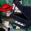 Mèo Tôm chơi đàn Piano