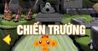 Chú khỉ buồn: Chiến trường