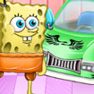 SpongeBob Car Cleaning