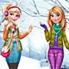 Elsa và Anna làm đẹp