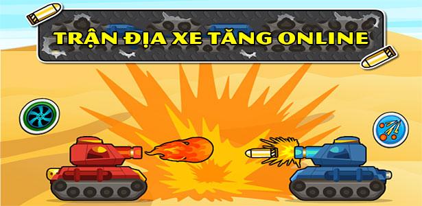 Game Trận địa xe tăng online - Tank Rumble - Game Vui