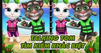 Talking Tom: Tìm điểm khác biệt