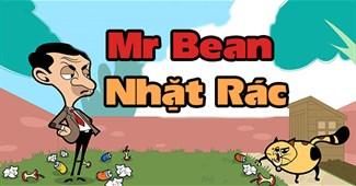 Mr Bean nhặt rác