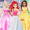 Công chúa: Thời trang váy hở vai
