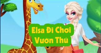 Elsa đi chơi vườn thú