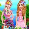 Elsa và Anna: Dạo chơi vườn hoa
