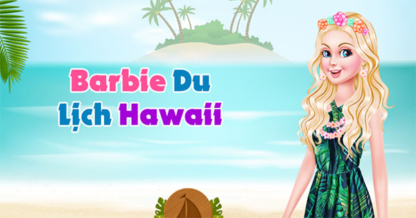 Barbie Travels To Hawaii