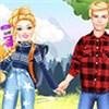 Barbie và Ken đi picnic