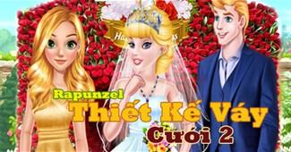 Rapunzel thiết kế váy cưới 2